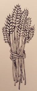 wheat sheaf clipart