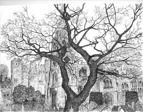 St Mary's Church line drawing