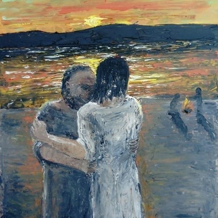 Peter and Jesus in John 21